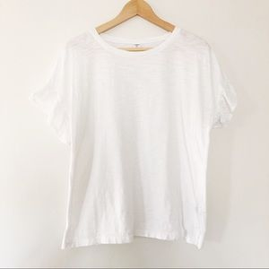 Old Navy Tops - Old Navy | White Tee with Eyelet Sleeve Detail